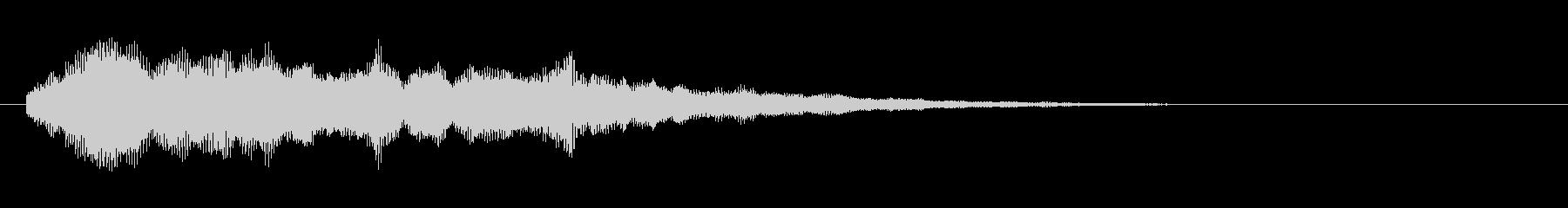 早押しボタン(シャラーン)の未再生の波形
