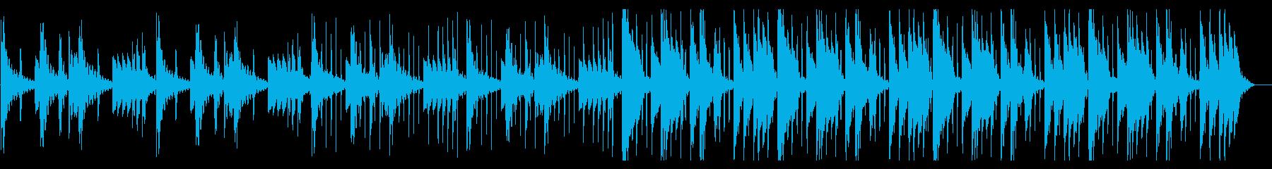 のんびりしたHiphop_No611_3の再生済みの波形