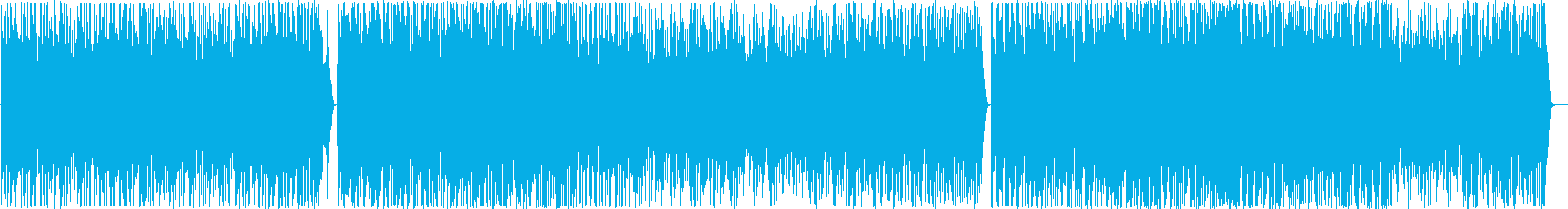 和太鼓のみの組太鼓楽曲の再生済みの波形
