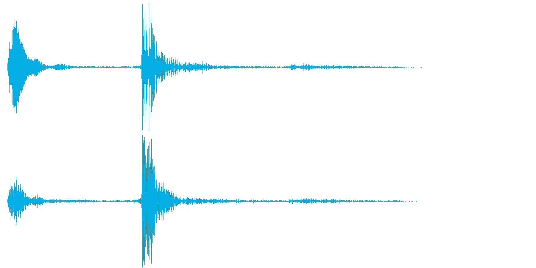 【生録音】お箸の音 38 手の中で擦れるの再生済みの波形