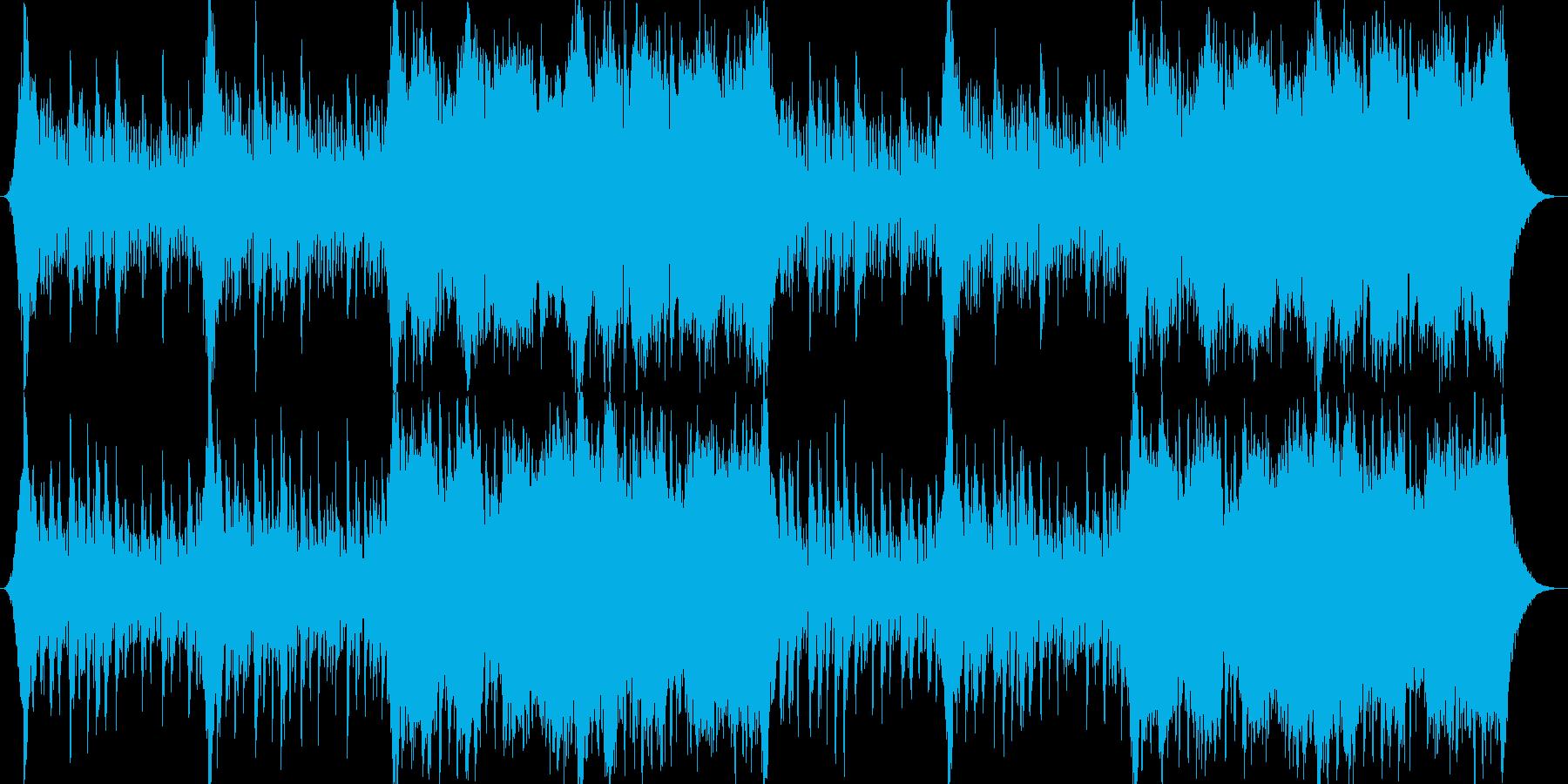 企業VPや映像40、壮大、オーケストラaの再生済みの波形