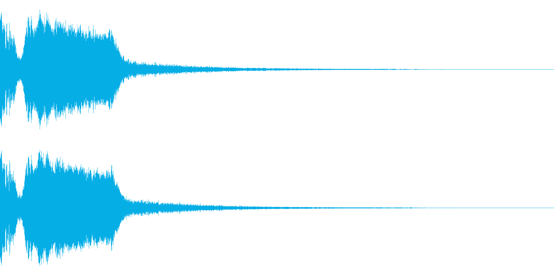 DJFX ヒットチャート発表前SE 10の再生済みの波形