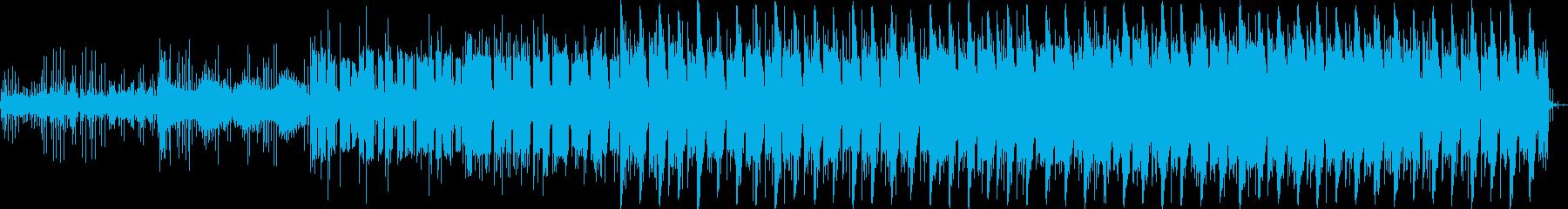優しい  静か 近未来的 テクノの再生済みの波形