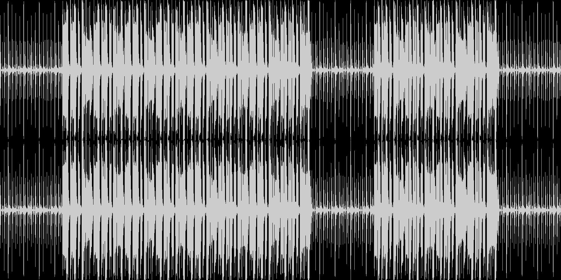 【ゆったりレゲエBGM】の未再生の波形