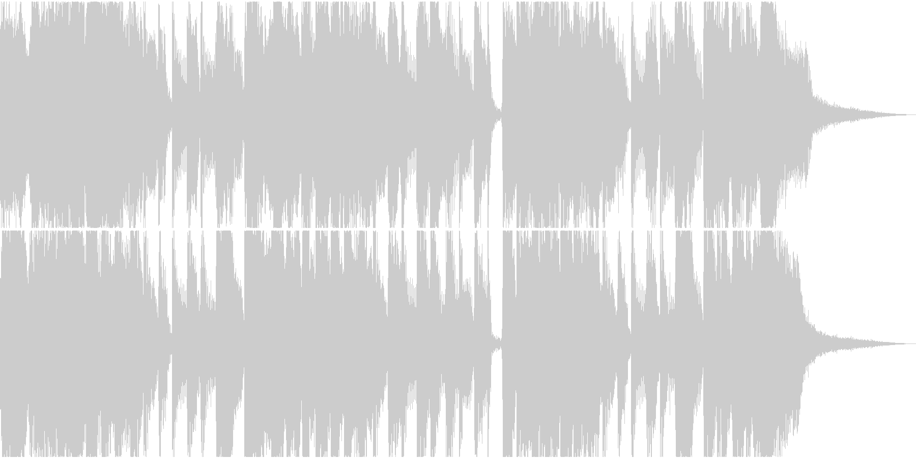 【15秒】軽快スカ風/TVCM用の未再生の波形
