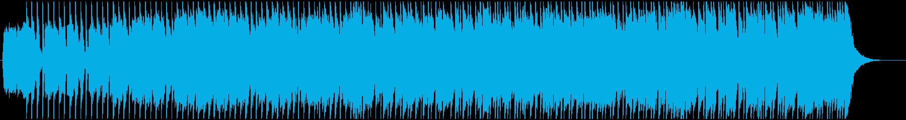 ハードロック、ブルージーなインスト...の再生済みの波形
