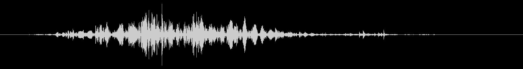 スライムなどが蠢く音 タイプA#6の未再生の波形