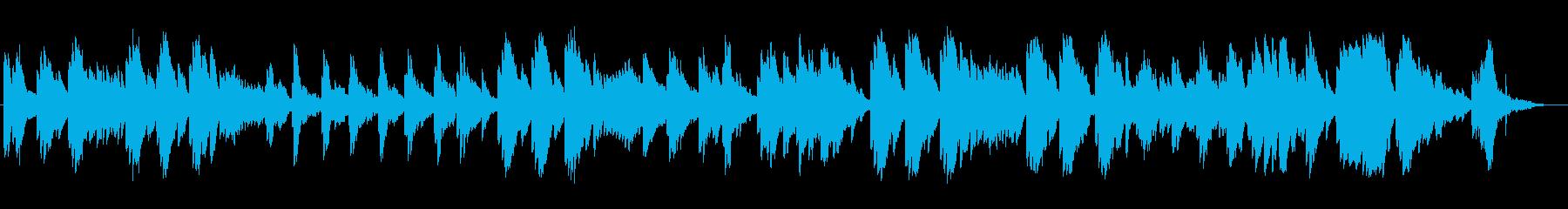 優しく切ないピアノサウンドの再生済みの波形