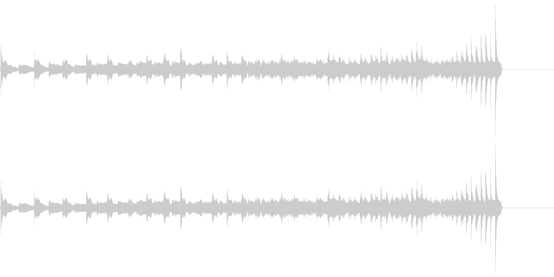生演奏 琵琶 武士 和風 古典風#24の未再生の波形