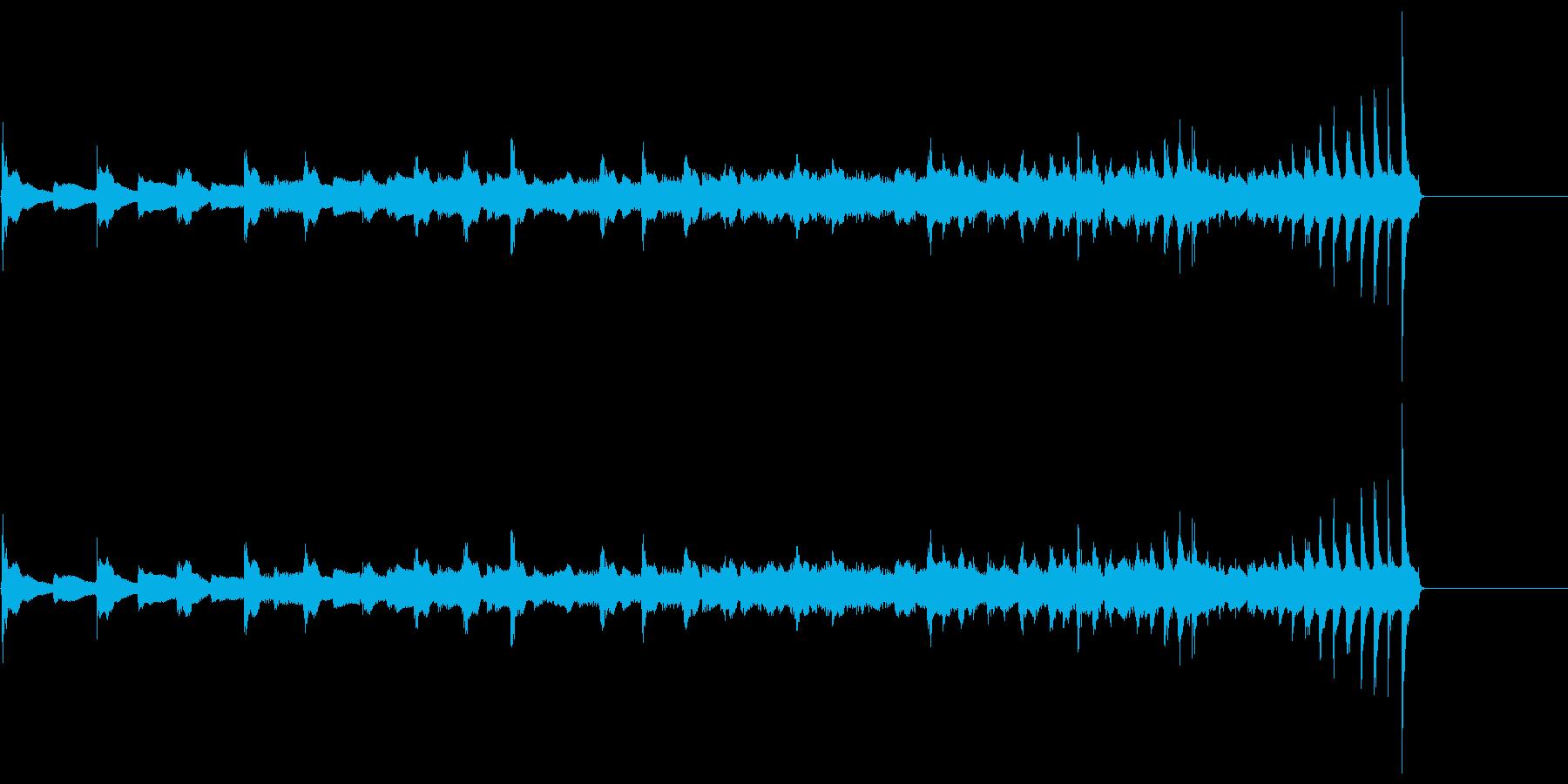 生演奏 琵琶 武士 和風 古典風#24の再生済みの波形