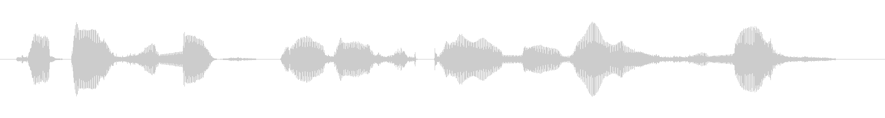 Nice to meet you 6 year old girl's unreproduced waveform