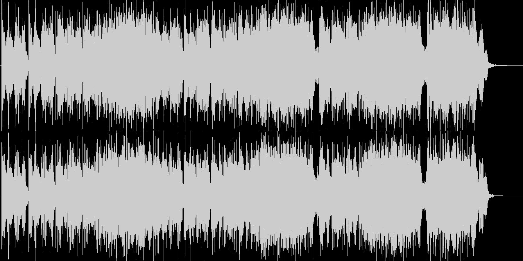水辺を連想させるピアノ主体ニューエイジの未再生の波形