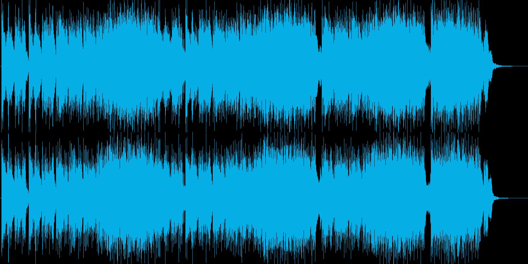 水辺を連想させるピアノ主体ニューエイジの再生済みの波形