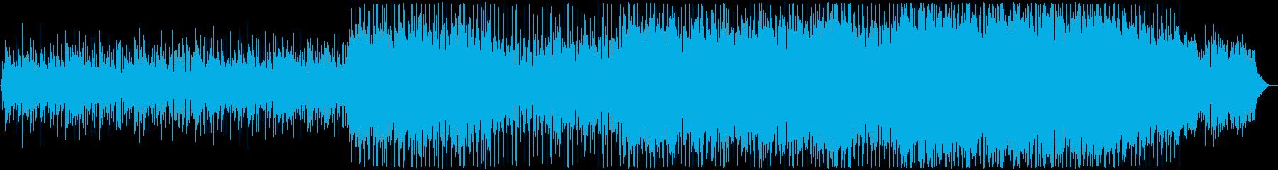商業ポップロックバックグラウンドミ...の再生済みの波形