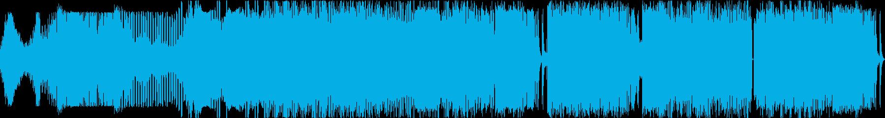 サスペンス。ベースシーケンスシンセ...の再生済みの波形