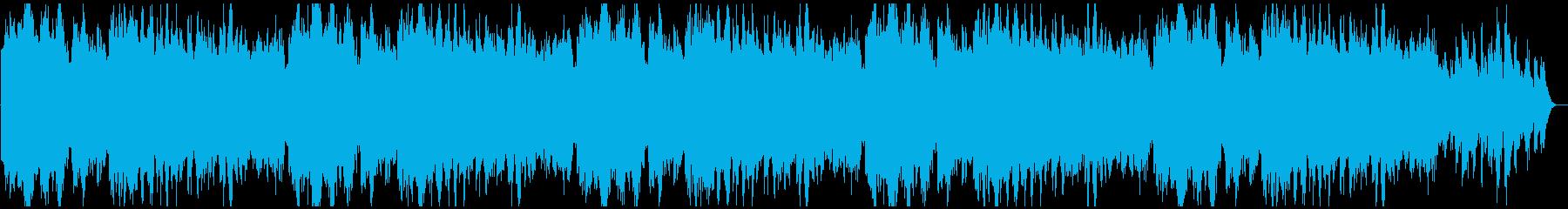 せつないシーン用の★ピアノ&ストリングスの再生済みの波形