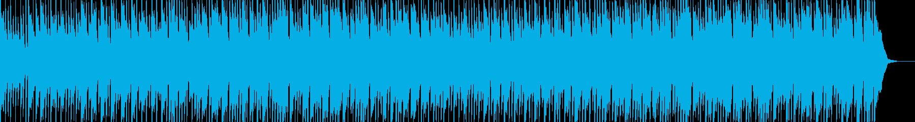 子供用の元気いっぱいな雰囲気のBGMの再生済みの波形