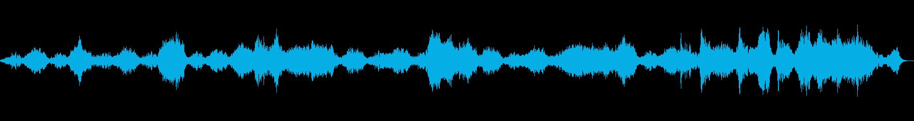 純粋・静かなアンビエントサウンドBGMの再生済みの波形