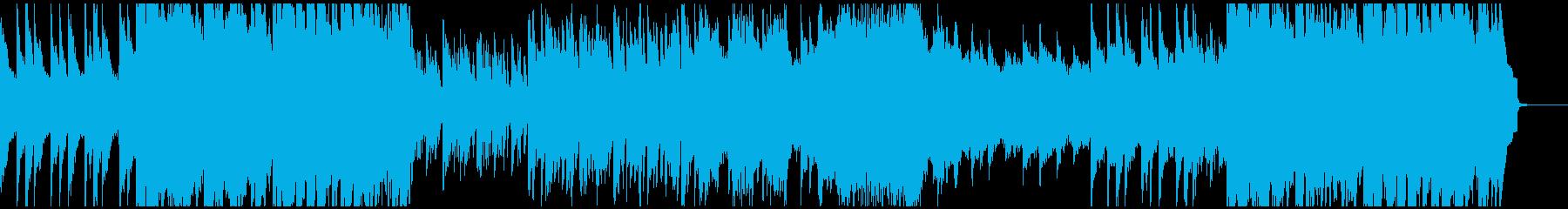 壮大で厳かで美しいピアノバラードの再生済みの波形