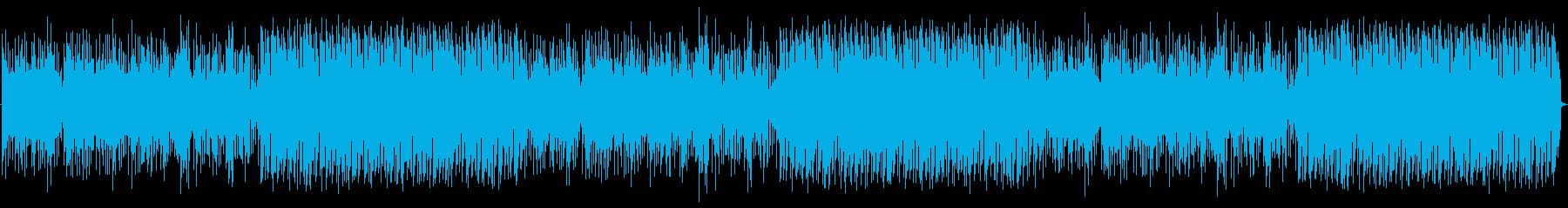 これは、最新のドラムループとチェロ...の再生済みの波形