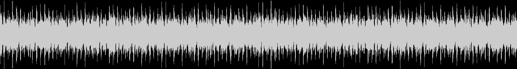 ニュースBGMなどに最適なポップ曲の未再生の波形