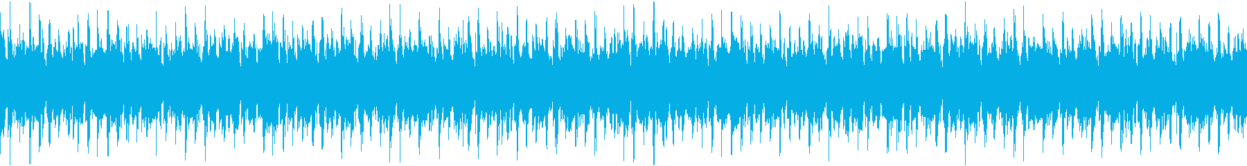 ニュースBGMなどに最適なポップ曲の再生済みの波形