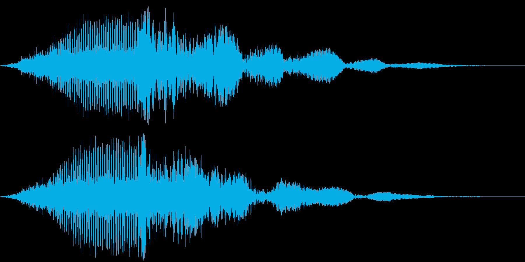 【映画演出】タイトル_03 エピックの再生済みの波形