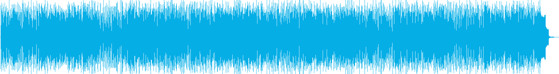アダルトな雰囲気のジャズファンクの再生済みの波形