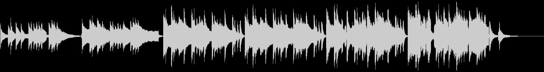 琴と尺八で古風な和を表現した風情のある曲の未再生の波形