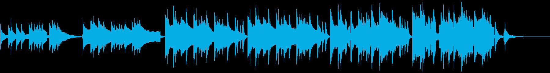 琴と尺八で古風な和を表現した風情のある曲の再生済みの波形