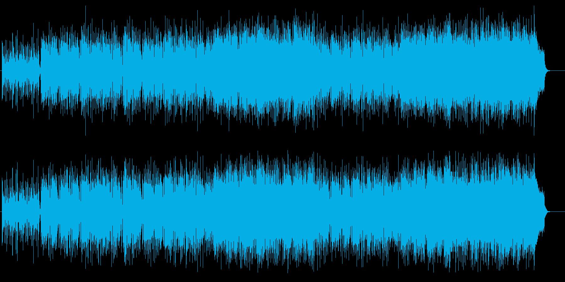 ほがらかな午後のライト・ポップスの再生済みの波形
