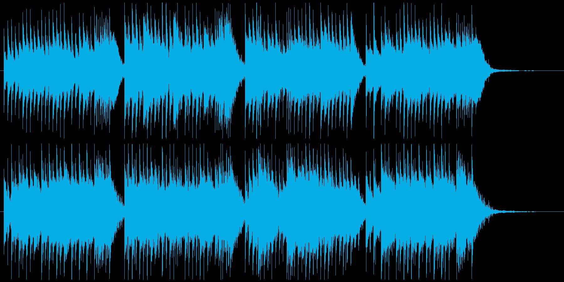 ミステリー、不思議、ホラー、オルゴール風の再生済みの波形
