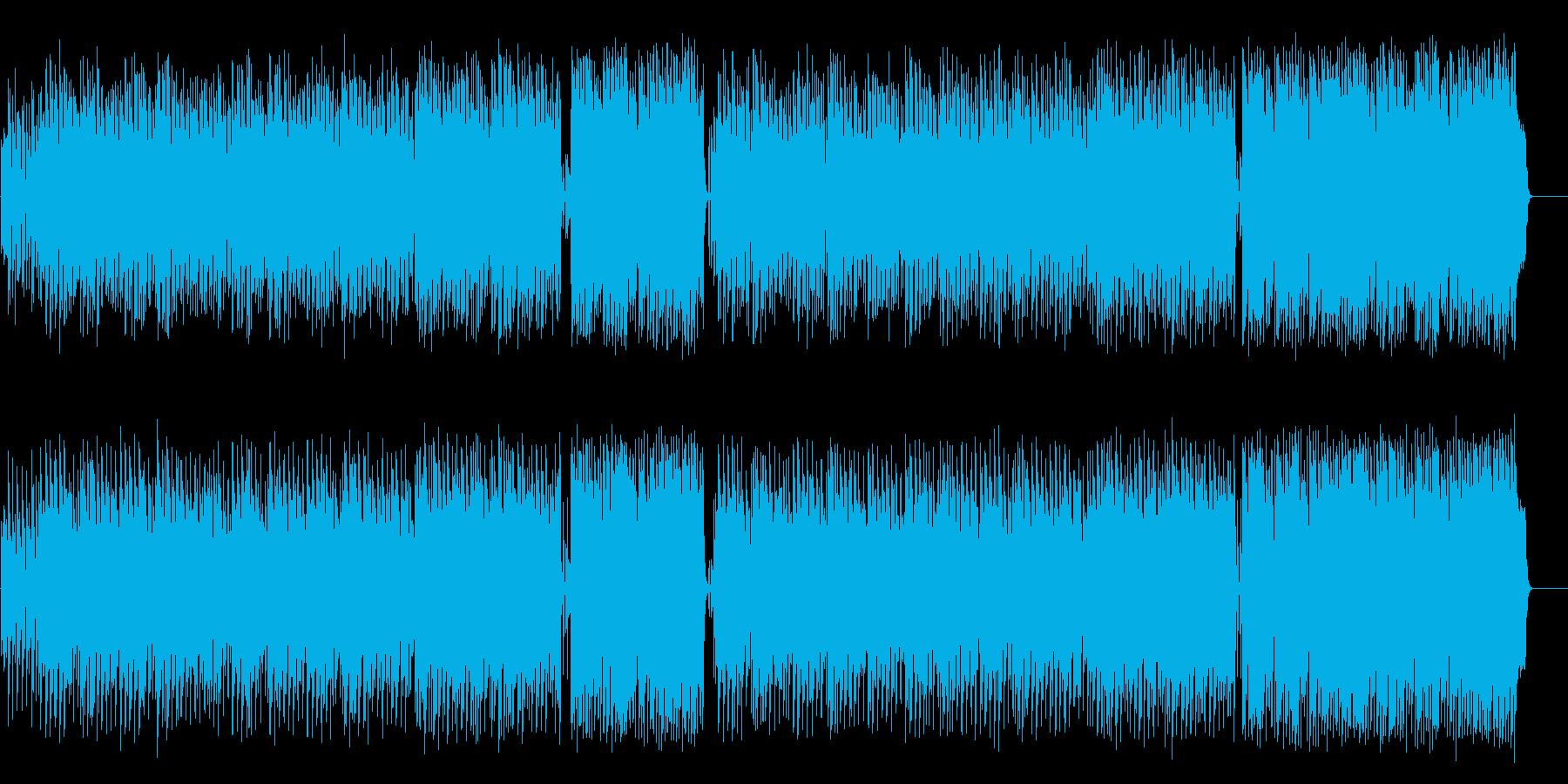 穏やかな(アメリアッチ)メキシカン調の再生済みの波形