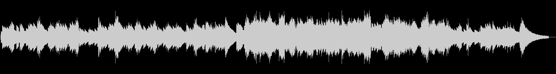 レトロな電子ピアノの素朴で静かなジングルの未再生の波形