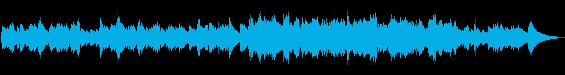 レトロな電子ピアノの素朴で静かなジングルの再生済みの波形