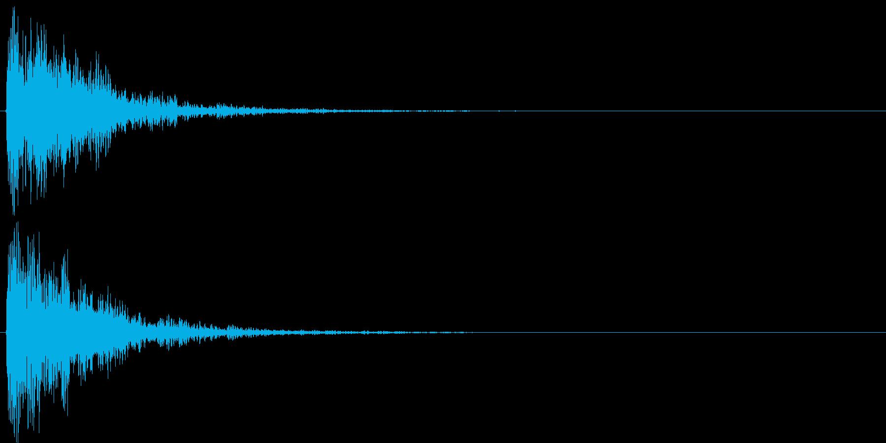 チャリラン(お知らせアラート低音付)の再生済みの波形