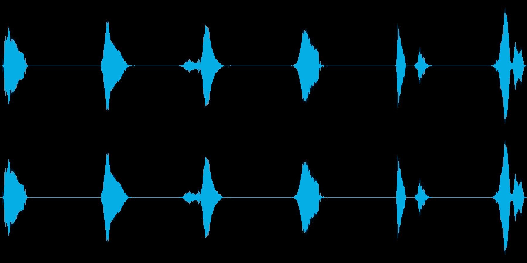 【子供カウント】5、4、3、2、1、0!の再生済みの波形