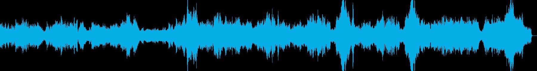 亡き王女のためのパヴァーヌ(オリジナル版の再生済みの波形
