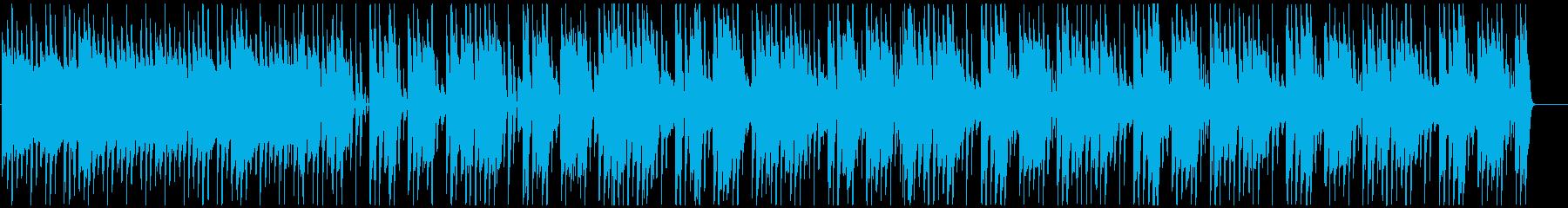 Reggae sadly sweet One Drop's reproduced waveform