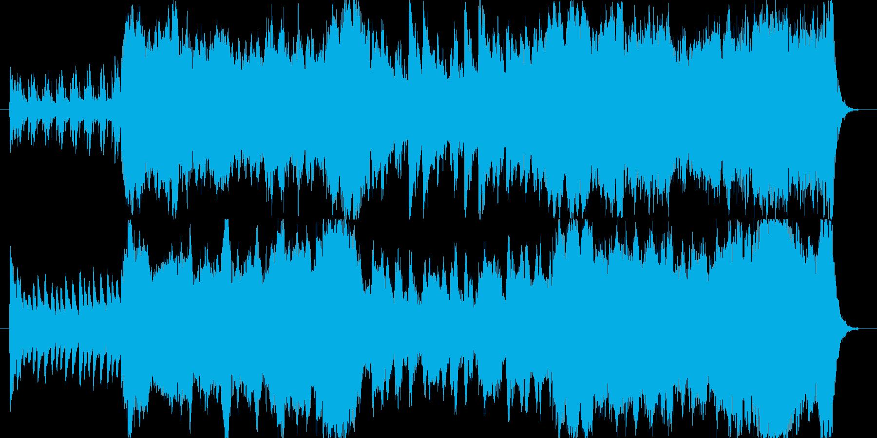 冒険の始まりのような壮大なイメージの楽…の再生済みの波形