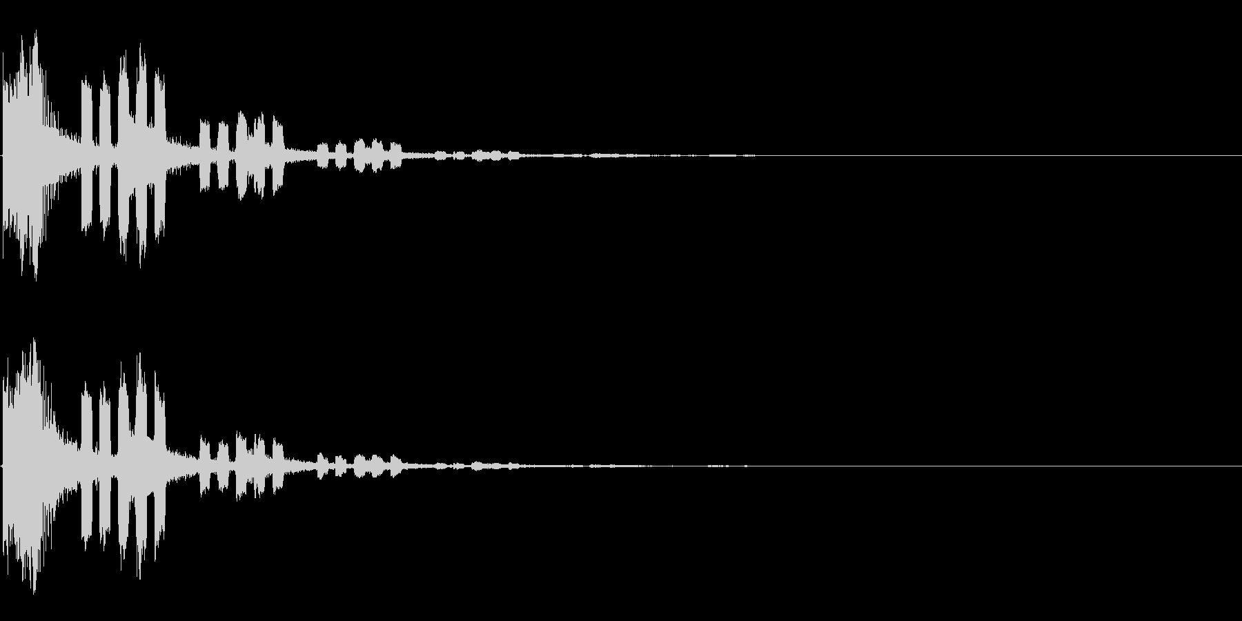 243 FXモールス&ビーム音の未再生の波形