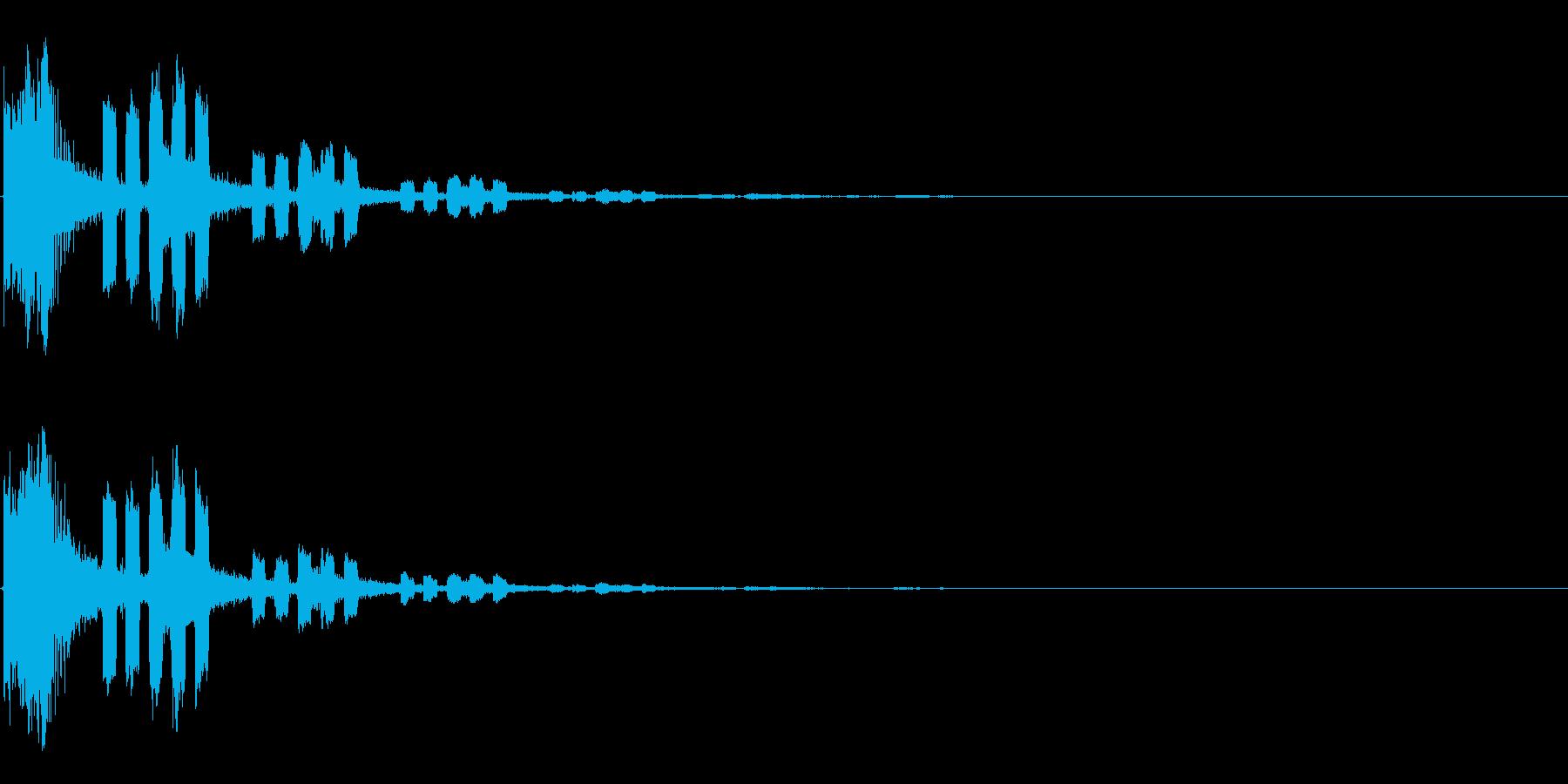 243 FXモールス&ビーム音の再生済みの波形