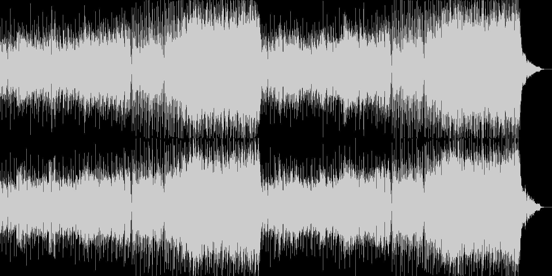 ひなびた懐かしい雰囲気のオルガンPOPSの未再生の波形