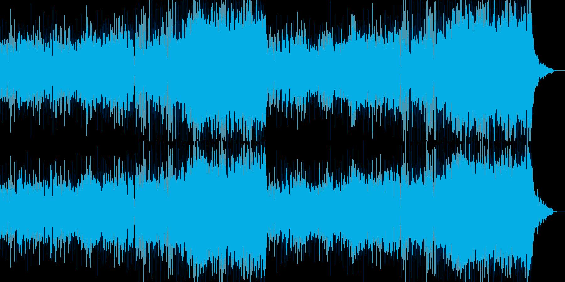 ひなびた懐かしい雰囲気のオルガンPOPSの再生済みの波形