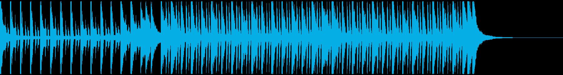 スポーツアクション(30秒)の再生済みの波形