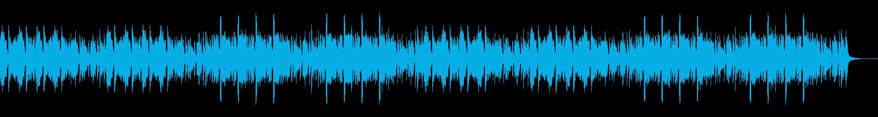 パズルや探索のイメージのライトなループの再生済みの波形