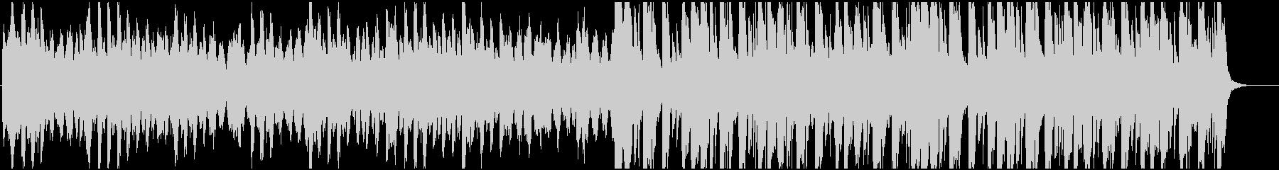ハロウィン、ほんのり不気味ファンタジー曲の未再生の波形