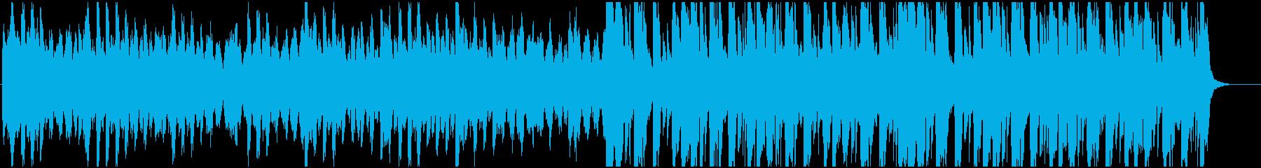 ハロウィン、ほんのり不気味ファンタジー曲の再生済みの波形