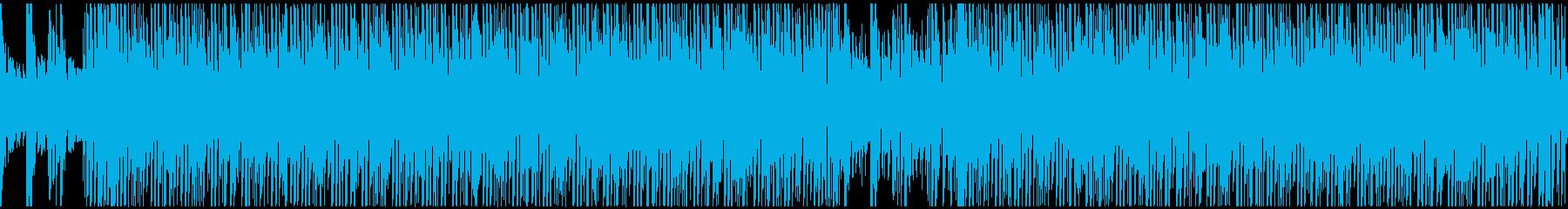 パズルゲーム風コミカルなサウンドループの再生済みの波形