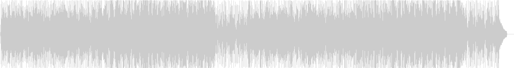 かわいいポップな日常シーン系の曲の未再生の波形